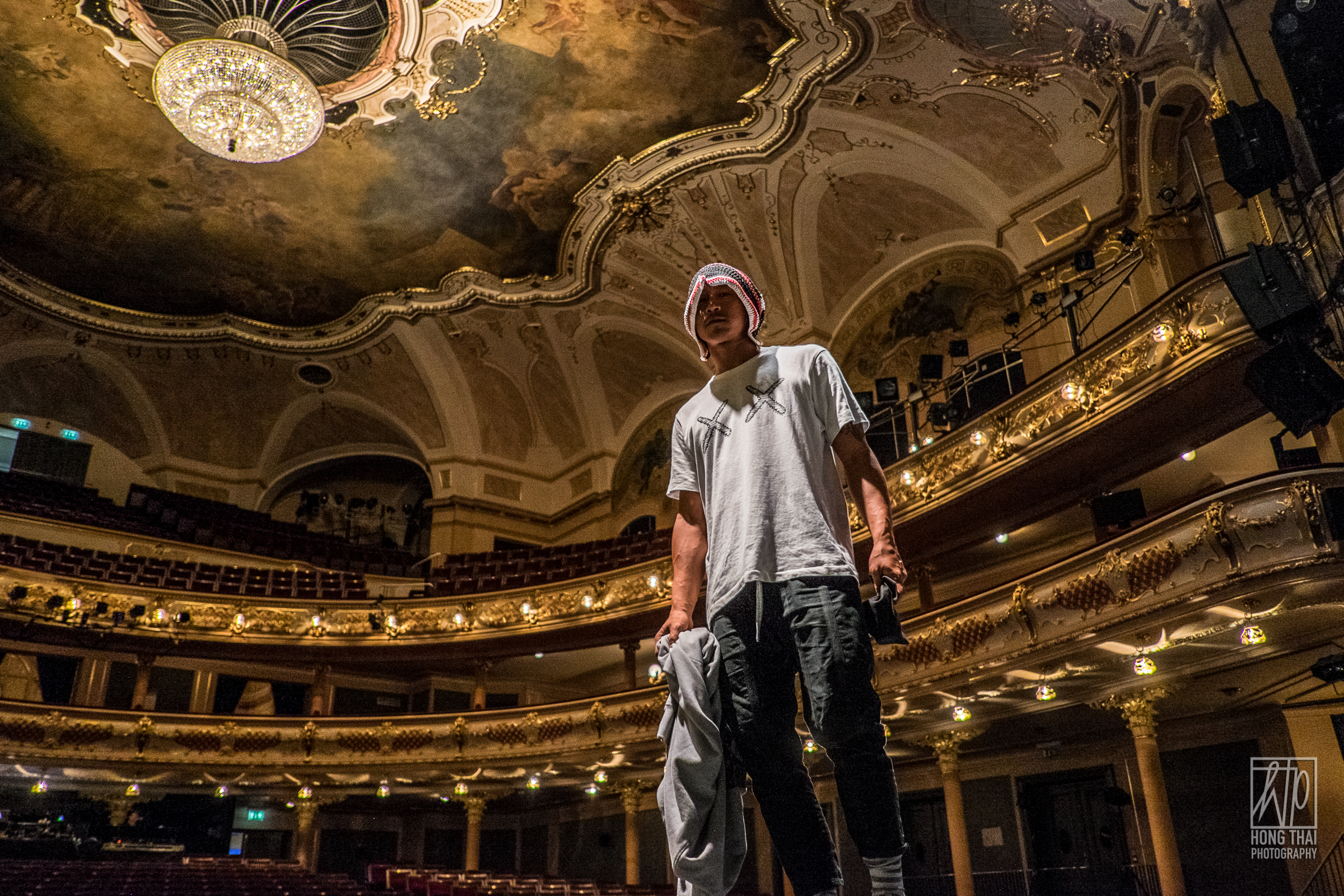 2016, Hip Hop Mask in the Karlin Theatre, Prague